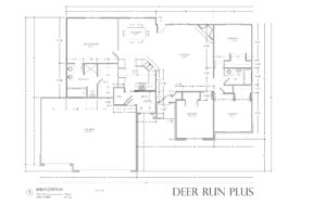 Deer Run Plus - plan only cropped Somerset GL